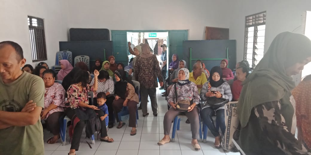 Fasilitasi Akta Kelahiran bagi warga Kelurahan Cokrodingratan