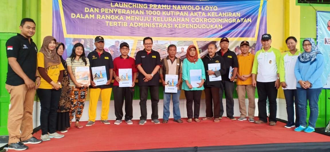 Launching 3 in 1 dan 1000 Akta Kelahiran