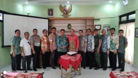 Cokrodiningratan menerima kunjungan dari Pemerintah Kota Banjarmasin