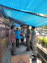 Monitoring Prokes Kelurahan Cokrodiningratan